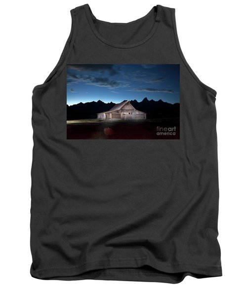 The John Moulton Barn On Mormon Row At The Base Of The Grand Tetons Wyoming Tank Top