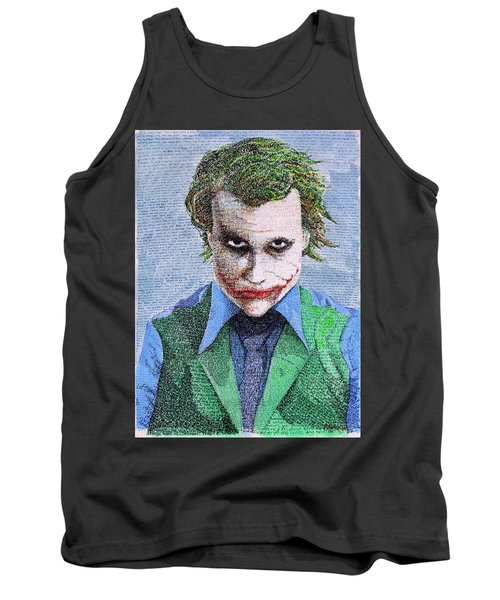 The Joker In His Own Words Tank Top