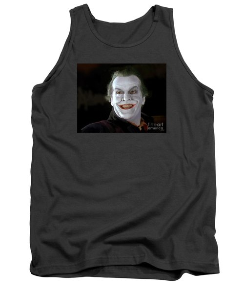 The Joker Tank Top by Paul Tagliamonte