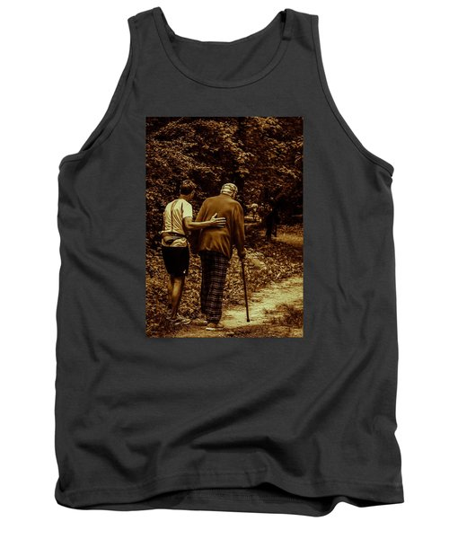 The Journey Tank Top by Michael Nowotny