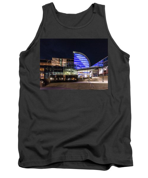 Tank Top featuring the photograph The Kentucky Center For The Performing Arts by Randy Scherkenbach