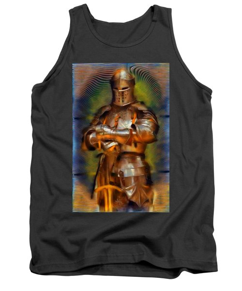 The Knight In Shining Armor Tank Top