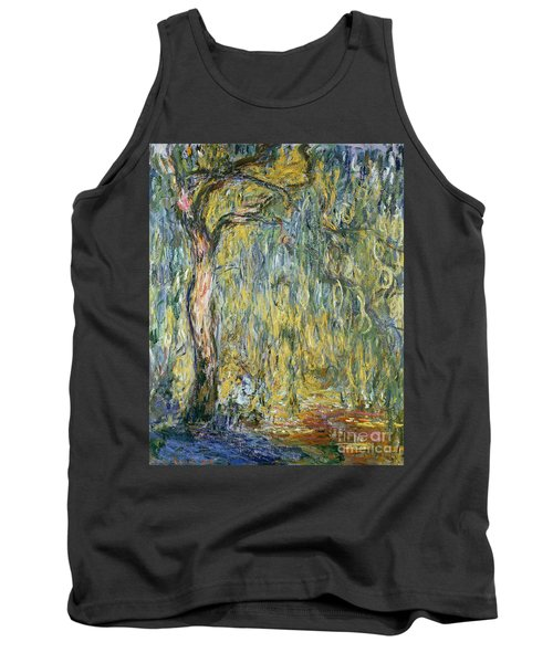 The Large Willow At Giverny Tank Top