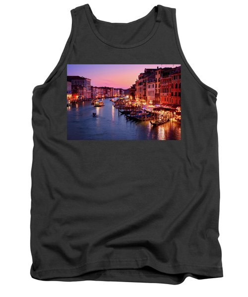 The Last Glimpse Of Traffic Tank Top