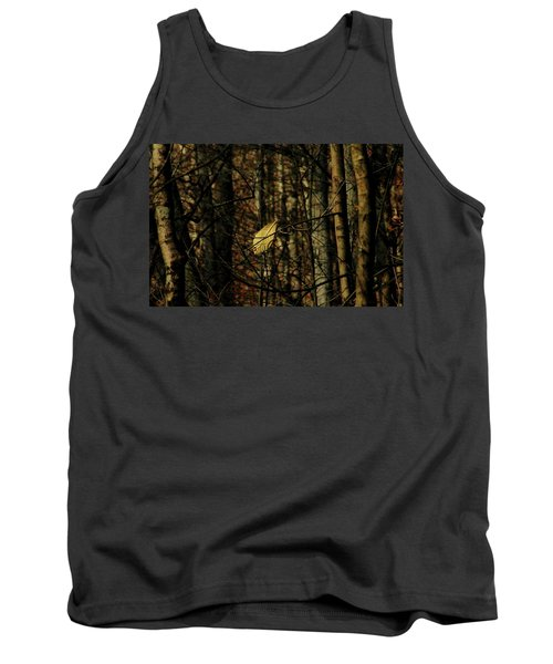 The Last Leaf Tank Top by Bruce Patrick Smith