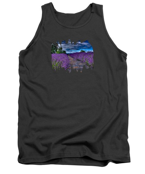 The Lavender Field Tank Top