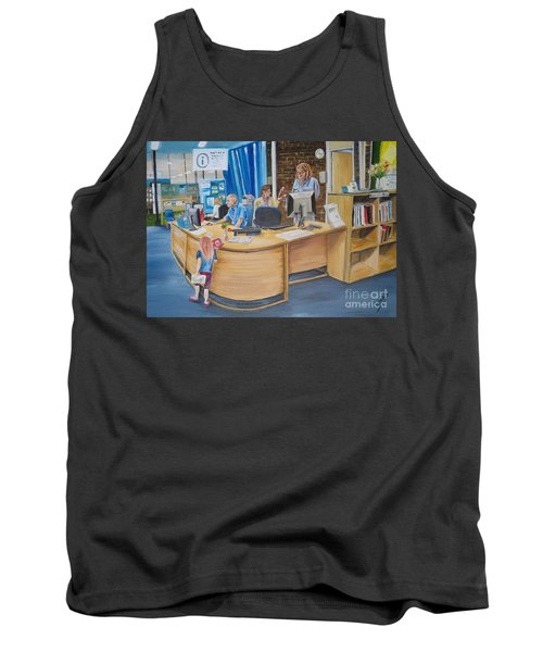 A Moment In Time Tank Top