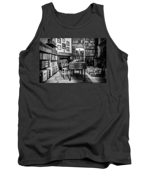 Tank Top featuring the photograph The Library by Nick Bywater