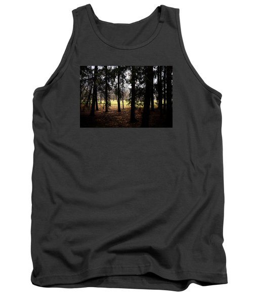 The Light After The Woods Tank Top by Celso Bressan