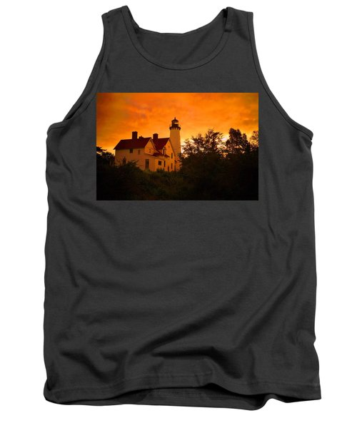 The Light At Dusk Tank Top by Daniel Thompson