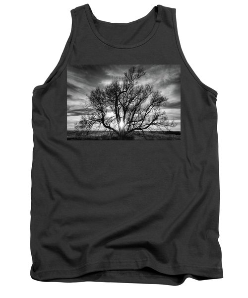 The Light Comes Through Tank Top by Monte Stevens
