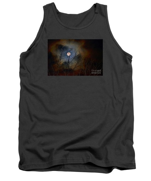 Tank Top featuring the photograph The Light Of The Moon by Lila Fisher-Wenzel