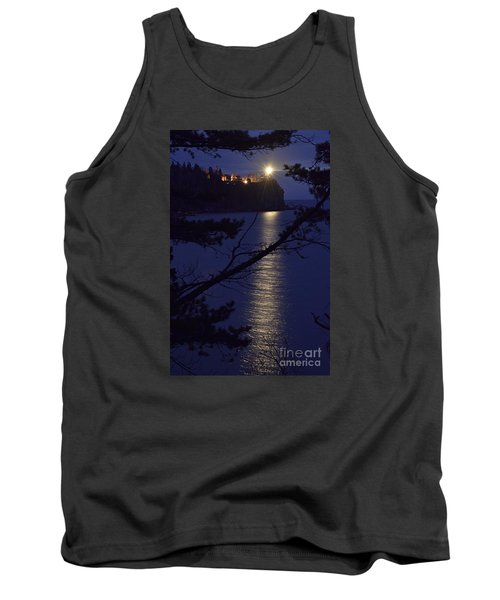 Tank Top featuring the photograph The Light Shines Through by Larry Ricker