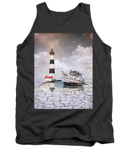 Tank Top featuring the photograph The Lighthouse by Juli Scalzi