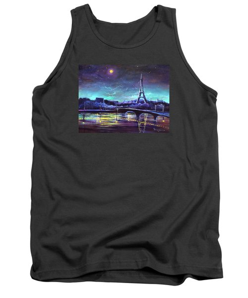 The Lights Of Paris Tank Top