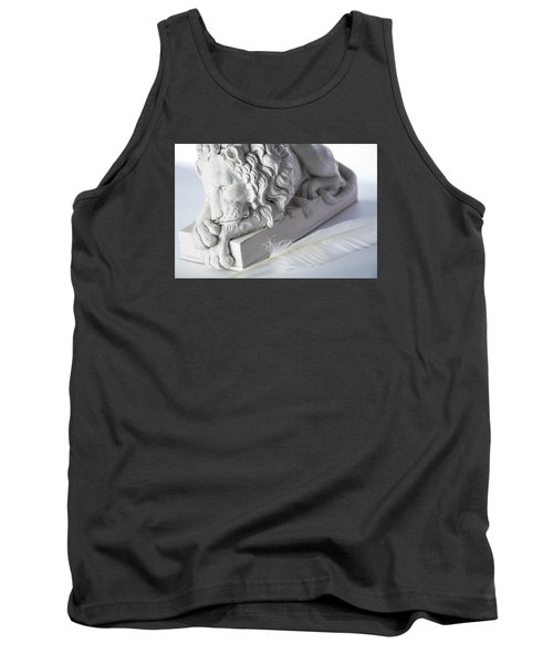 The Lion And The Feather Tank Top