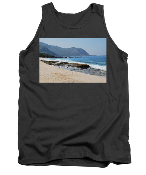 Tank Top featuring the photograph The Local's Beach by Amee Cave