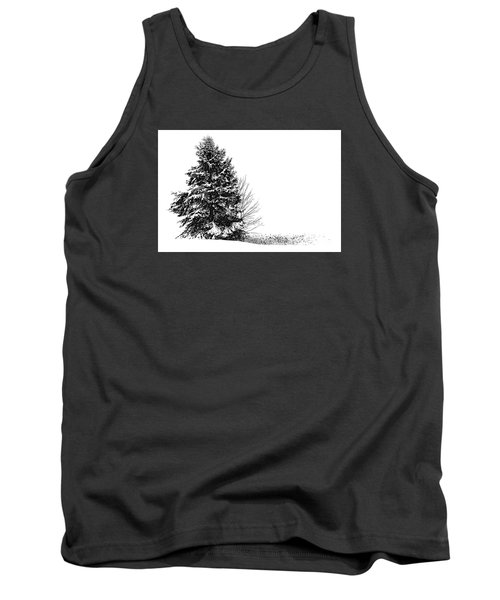 The Lone Pine Tank Top by Jim Rossol