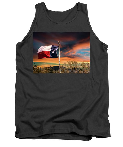 The Lone Star Flag Tank Top