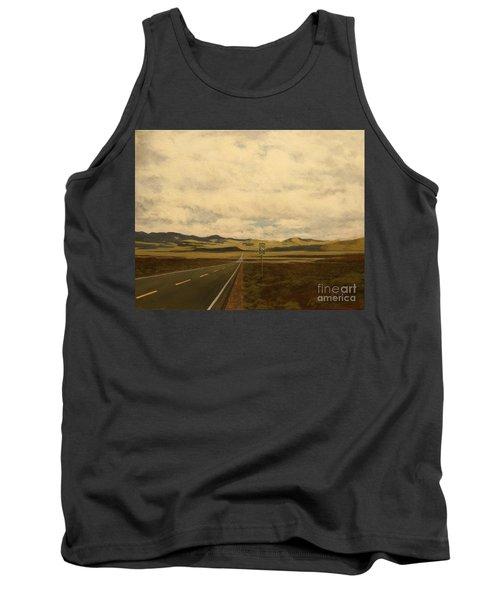 The Loneliest Road Tank Top