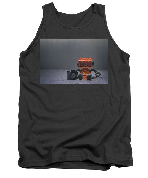 The Lonely Robot Photographer Tank Top