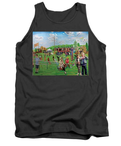 The Long Island Fair At Old Bethpage Restoration Tank Top