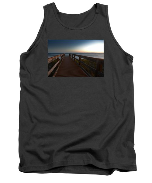 Tank Top featuring the photograph The Long Walk Home by Renee Hardison