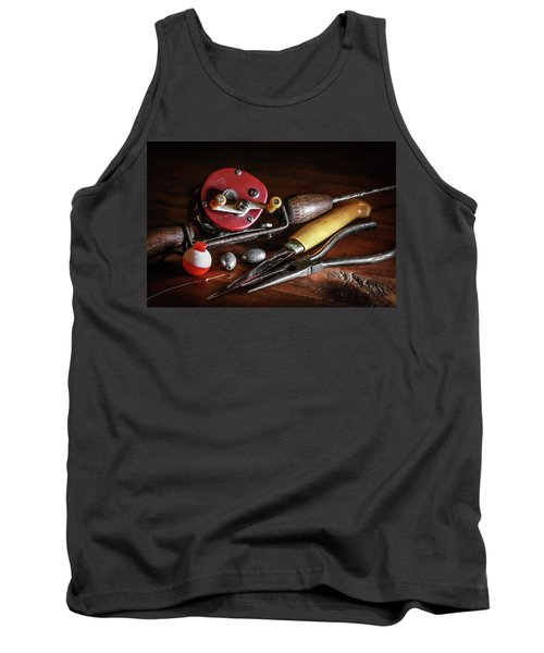 The Lure Of Fishing Tank Top by Ray Congrove