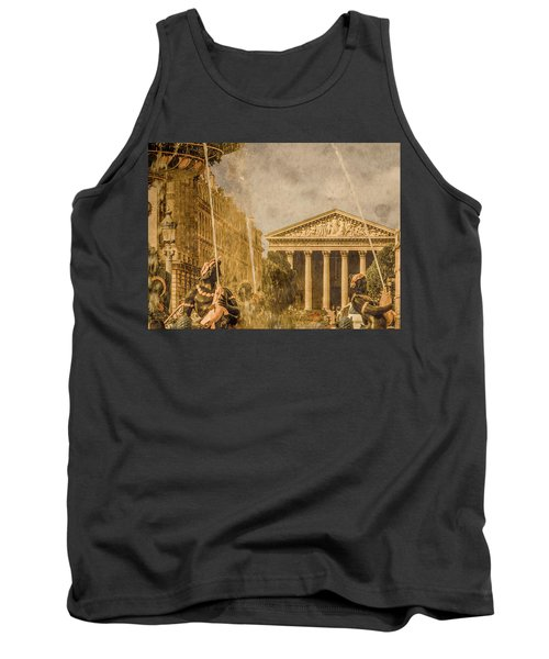 Paris, France - The Madeleine Tank Top