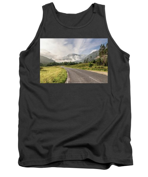 Tank Top featuring the photograph The Magic Morning by Sergey Simanovsky