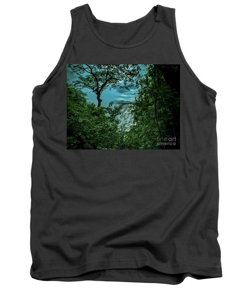 Tank Top featuring the photograph The Majestic Victoria Falls by Karen Lewis