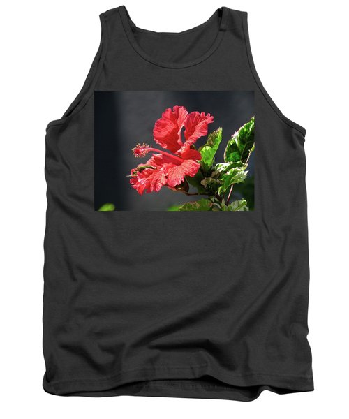 The Mallow Hibiscus Tank Top