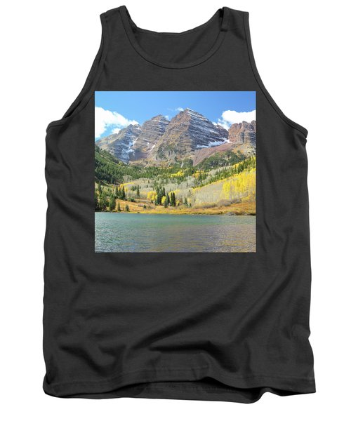 The Maroon Bells 2 Tank Top by Eric Glaser