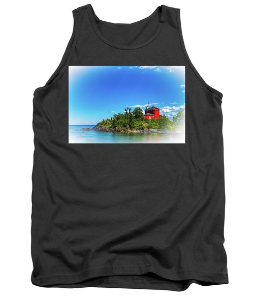 The Marquette Harbor Light Station Tank Top