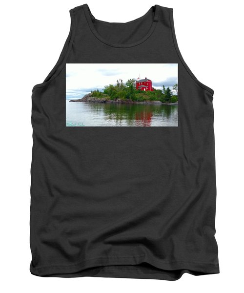 The Marquette Lighthouse Tank Top