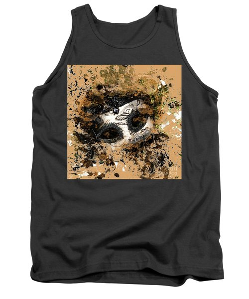 Tank Top featuring the photograph The Mask Of Fiction by LemonArt Photography