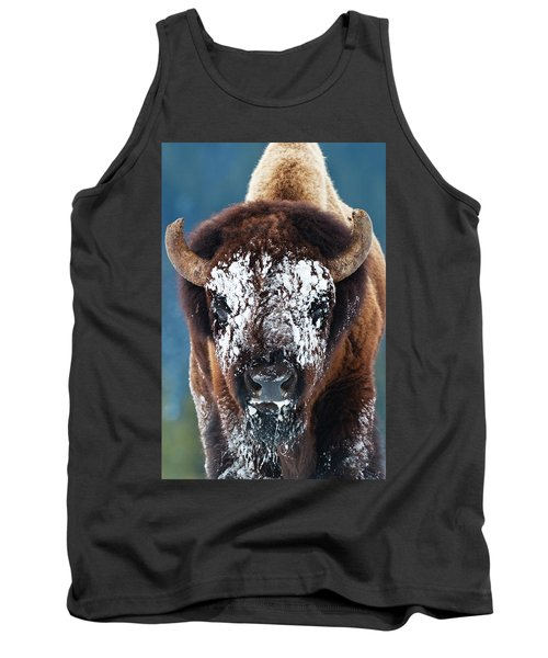 The Masked Bison Tank Top