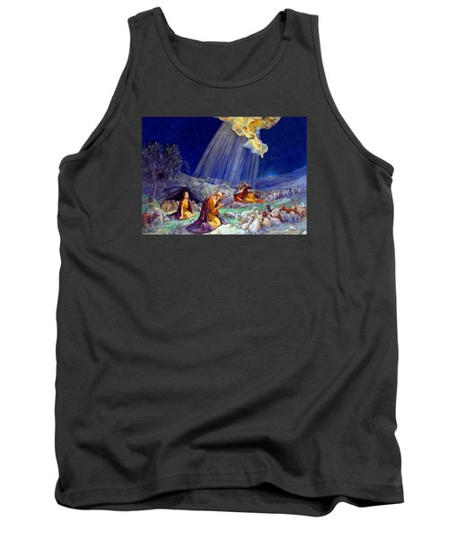 The Message To Shepherds Tank Top by Munir Alawi