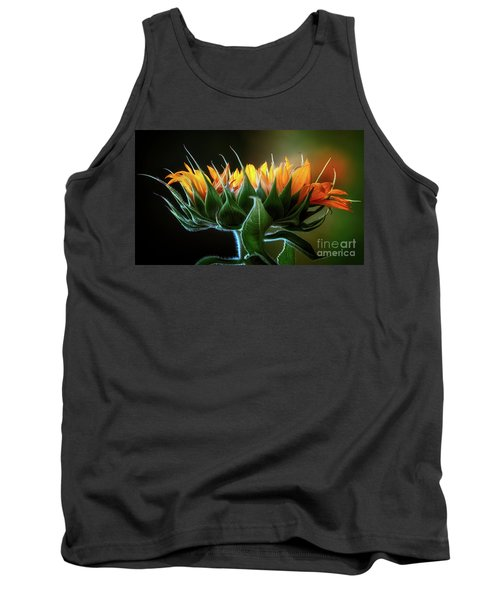 The Mighty Sunflower Tank Top