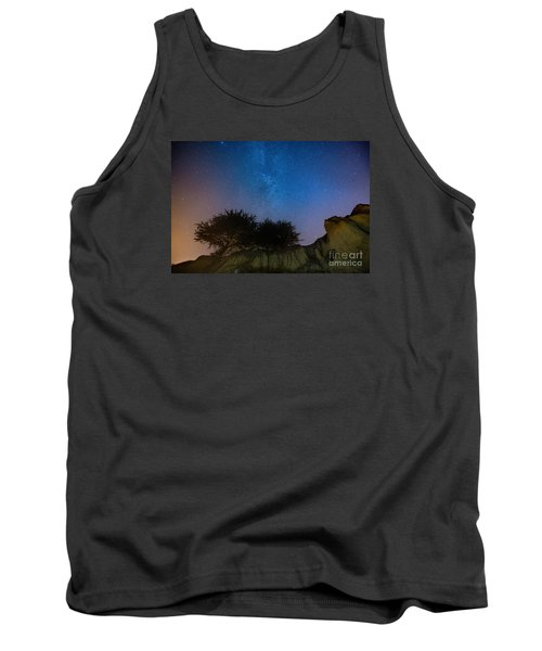 The Milky Way Above Shell Beach Tank Top