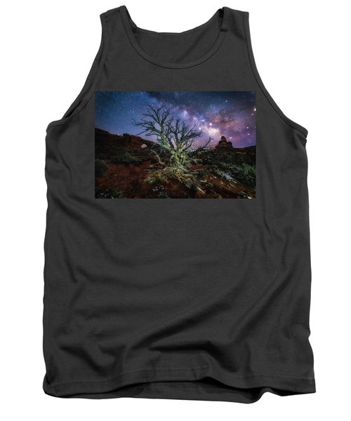 The Milky Way Tree Tank Top