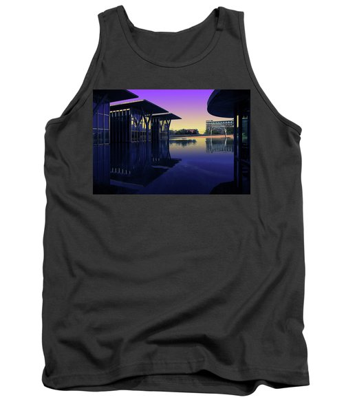 Tank Top featuring the photograph The Modern, Fort Worth, Tx by Ricardo J Ruiz de Porras