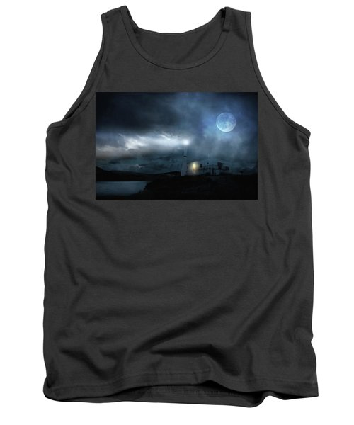 The Moon Touches Your Shoulder Tank Top