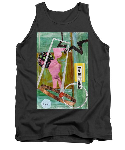 Tank Top featuring the painting The Multiverse by Patricia Cleasby