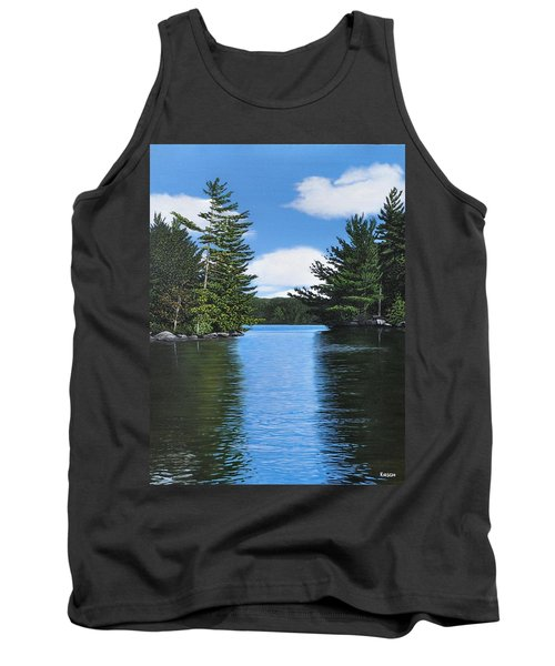 The Narrows Of Muskoka Tank Top