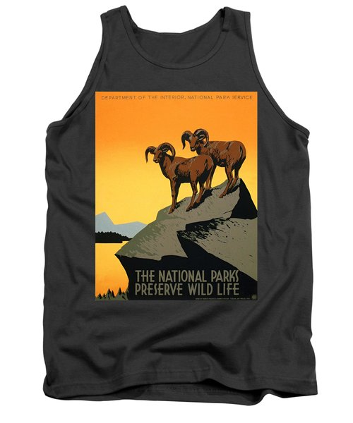The National Parks Poster Tank Top
