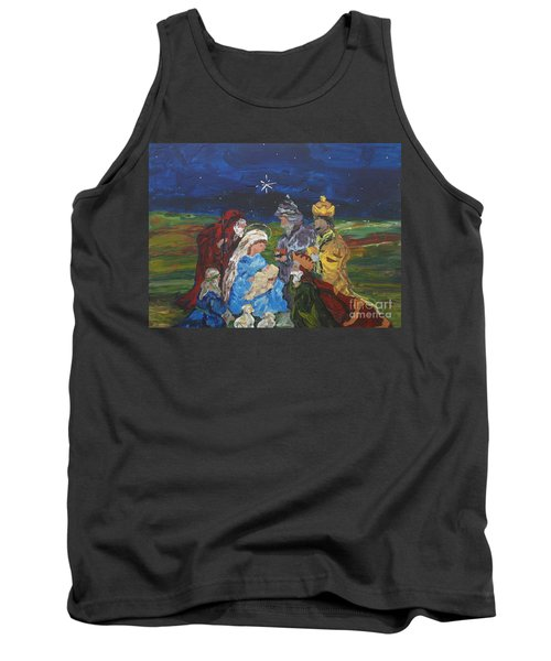 The Nativity Tank Top by Reina Resto