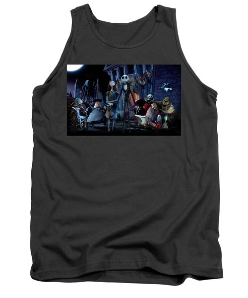 The Nightmare Before Christmas Tank Top