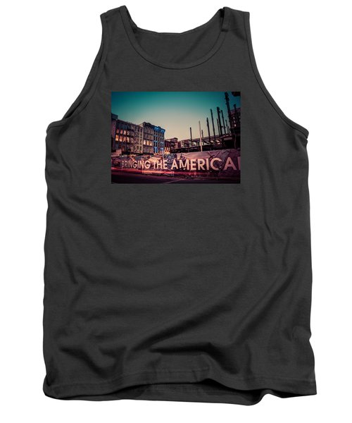 Tank Top featuring the photograph The Old And The New by Mark Dodd