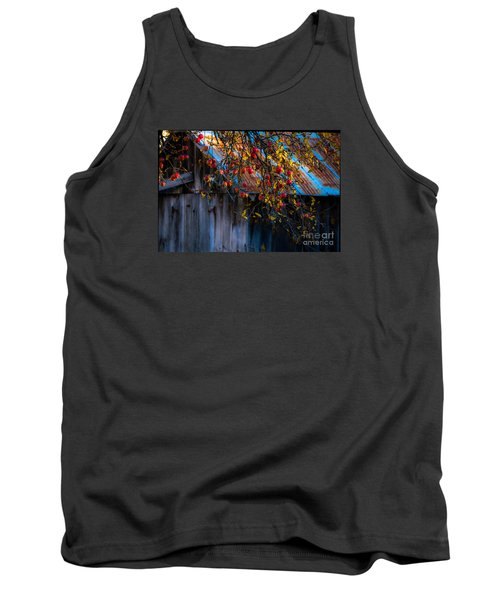 The Old Barn Tank Top by Sherman Perry